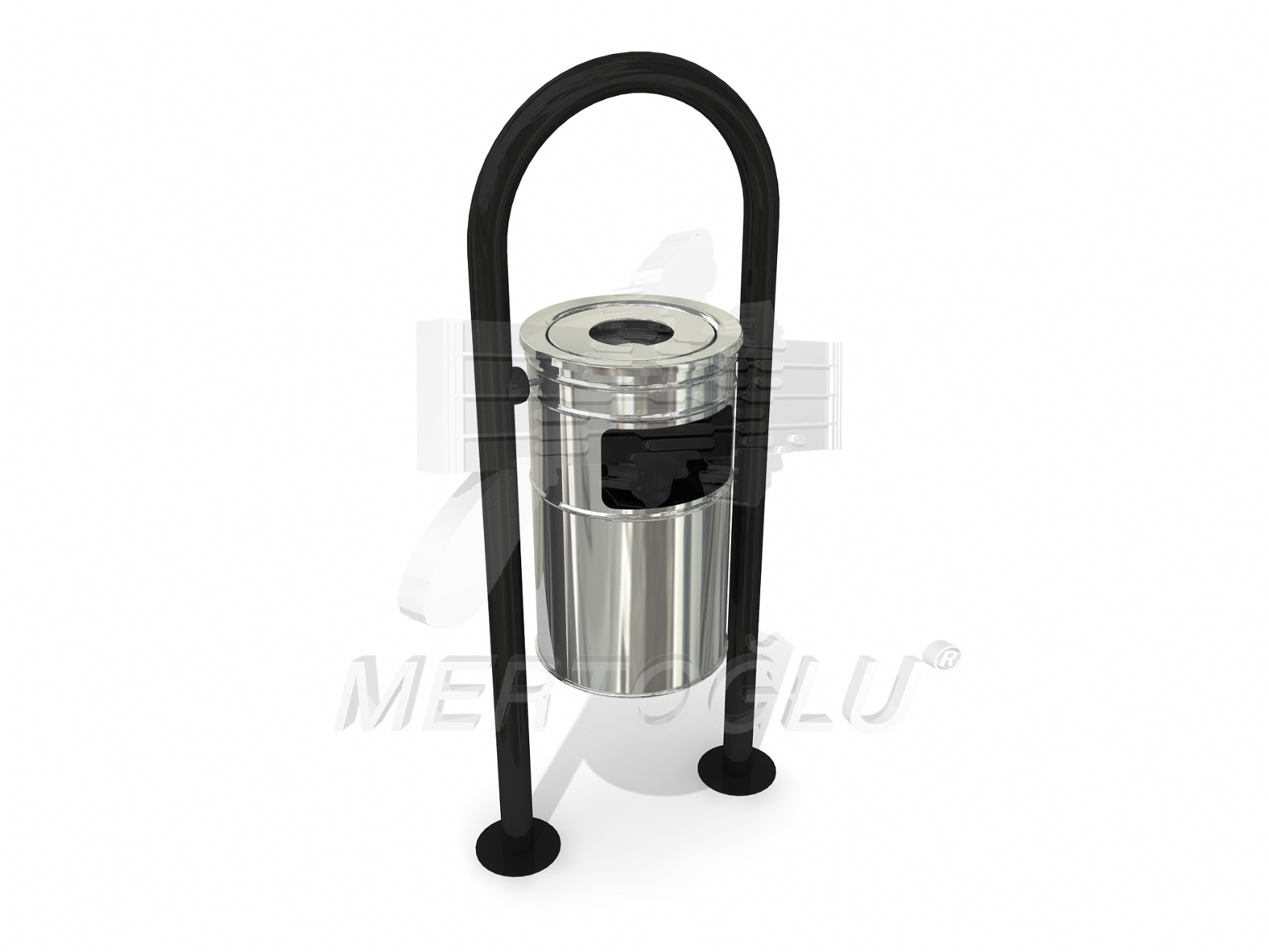 Outdoor Litter Bins-Mbk-159a