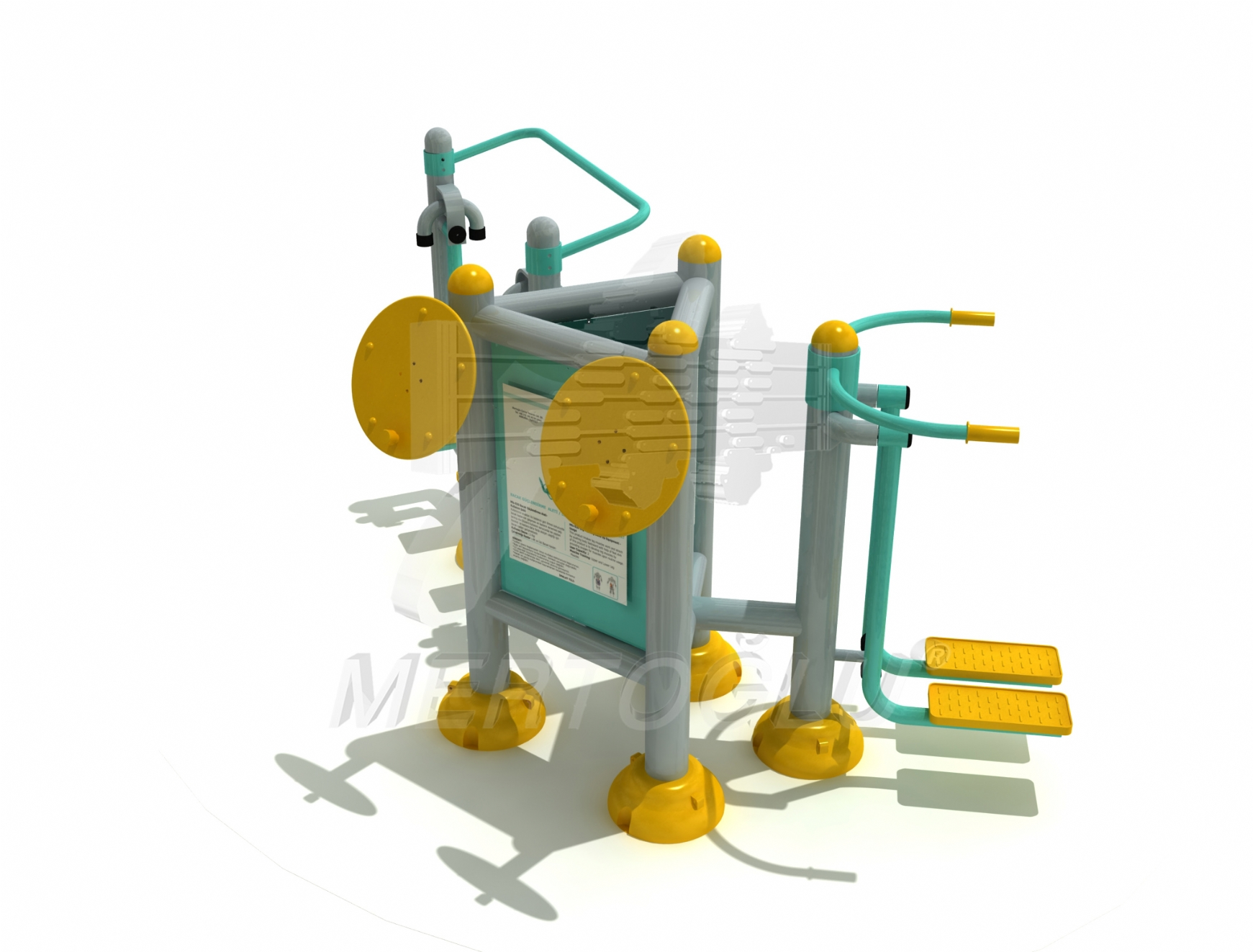 Triple Fitness Equipments -Mfs-032