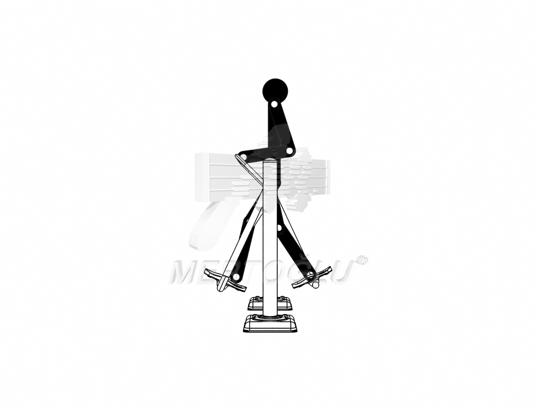 Single Fitness Equipment -Mfs-005