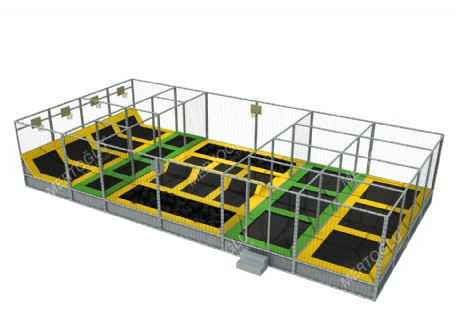Soft Play Trampoline Mte-007